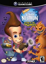 Jimmy Neutron: Attack of the Twonkies GameCube