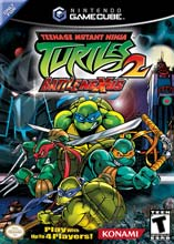 Teenage Mutant Ninja Turtles 2: Battle Nexus GameCube