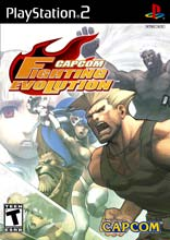 Capcom Fighting Evolution PS2