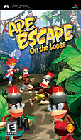 Ape Escape: On The Loose PSP