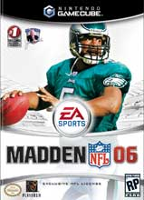 Madden NFL 06 for GameCube last updated Jan 27, 2008