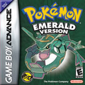 Pokemon Emerald for Game Boy Advance last updated Oct 08, 2013