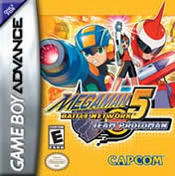 Mega Man Battle Network 5: Team Protoman GBA