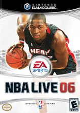 NBA Live 06 for GameCube last updated Jan 23, 2008