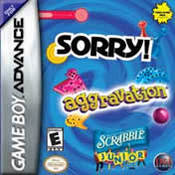 Sorry! / Aggravation / Scrabble Junior GBA