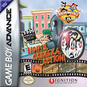 A Animaniacs: Lights, Cameraction! GBA