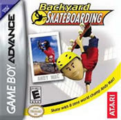 Backyard Skateboarding GBA