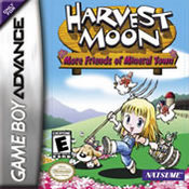 Harvest Moon: More Friends of Mineral Town GBA