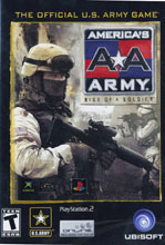 America's Army: Rise of a Soldier PS2