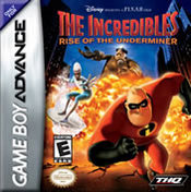 The Incredibles: Rise of the Underminer GBA