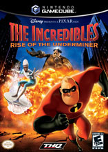 The Incredibles: Rise of the Underminer GameCube