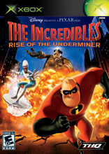 The Incredibles: Rise of the Underminer Xbox