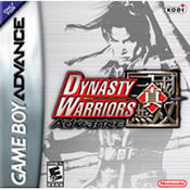 Dynasty Warriors Advance GBA