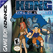 Kong: King of Atlantis GBA