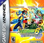 Mega Man Battle Network 6: Cybeast Gregar GBA