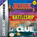 Risk - Battleship - Clue GBA