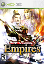 Dynasty Warriors 5: Empires Xbox 360
