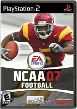NCAA Football 07 PS2