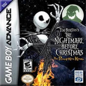 Tim Burtons Nightmare Before Christmas: The Pumpkin King GBA