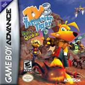 Ty the Tasmanian Tiger 3: Night of the Quinkan GBA
