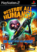 Destroy All Humans for PlayStation 2 last updated Mar 21, 2012