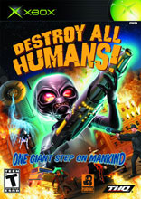 Destroy All Humans Xbox