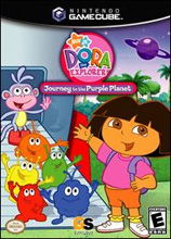 Dora The Explorer: Journey to the Purple Planet GameCube