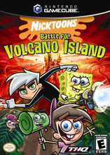 Nicktoons: Battle for Volcano Island GameCube