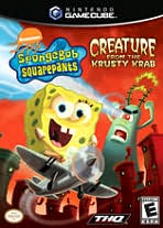 SpongeBob SquarePants: Creature from the Krusty Krab GameCube