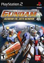 Mobile Suit Gundam: Gundam vs. Zeta Gundam PS2