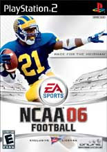 NCAA Football 06 for PlayStation 2 last updated Aug 21, 2006