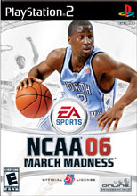 NCAA March Madness 06 PS2