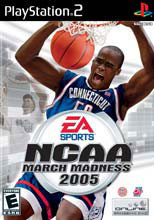 NCAA March Madness 2005 PS2