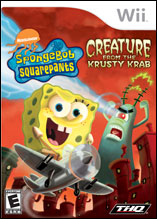 SpongeBob SquarePants: Creature from the Krusty Krab Wii