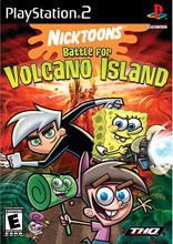 Nicktoons: Battle for Volcano Island PS2