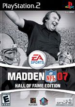 Madden NFL 07 Hall of Fame Edition PS2