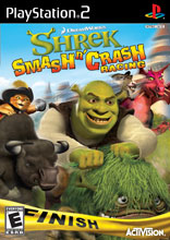 Shrek Smash 'n' Crash Racing PS2