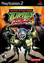 Teenage Mutant Ninja Turtles 3: Mutant Nightmare PS2