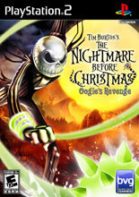 Tim Burton's The Nightmare Before Christmas: Oogie's Revenge PS2