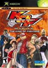 King of Fighters: Maximum Impact Maniax Xbox