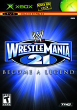 WWE WrestleMania 21 Xbox