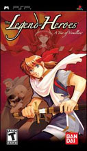 Legend of Heroes: A Tear of Vermillion PSP