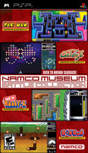 Namco Museum Battle Collection for PSP last updated Aug 15, 2006