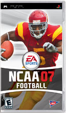 NCAA Football 07 for PSP last updated Nov 11, 2008