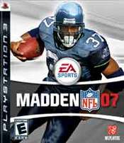 Madden NFL 07 for PlayStation 3 last updated Sep 04, 2013