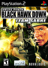 Delta Force Black Hawk Down: Team Sabre PS2