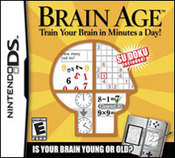 Brain Age: Train Your Brain in Minutes a Day! DS