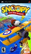 Snoopy vs. the Red Baron PSP