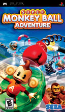 Super Monkey Ball Adventure PSP