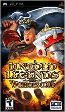 Untold Legends: The Warrior's Code for PSP last updated Jan 04, 2008